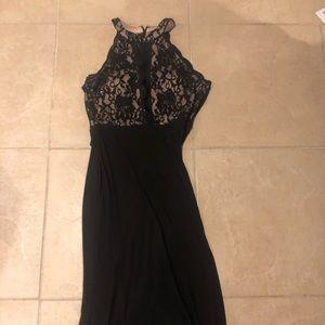 Beautiful black lace dress